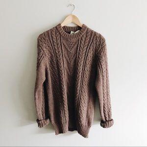 ➰ mauve oversized sweater ➰